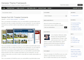 Genesis Framework Themes