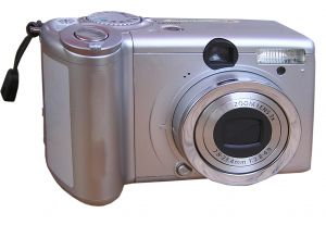 A picture of a camera? How meta.