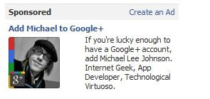 Google+ add on facebook