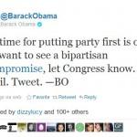 President Barack Obama Comprise Twitter
