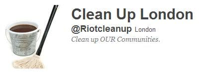 Cleanup London twitter