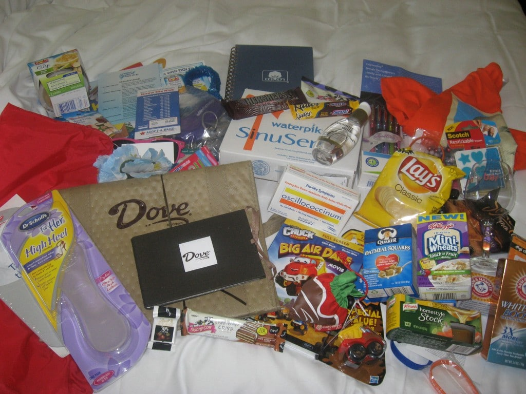 BlogHer 2011 swag
