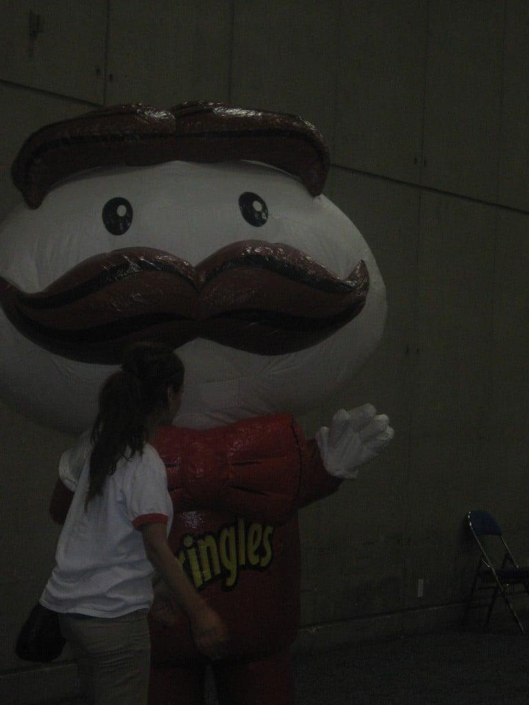 Pringles at BlogHer