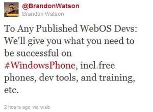 WatsonWebOStweet