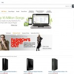 New Amazon Site Design