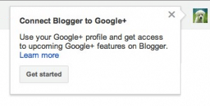 Blogger and Google Plus