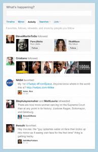 Activity Stream Twitter
