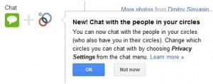 Google+ chat