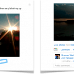 Google+ hangouts in posts