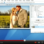 video screen how to watermark pictures