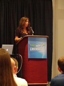 Missy Ward at BlogWorld