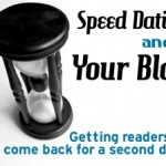 speed dating and your blog