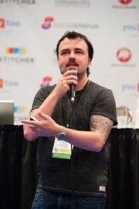 Scott Stratten at BlogWorld New York