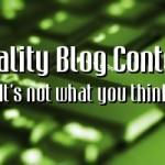 Quality Blog Content