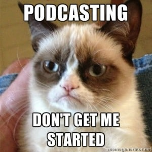 Grumpy Cat Podcasting