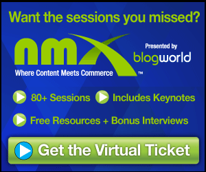 Get the entire NMX conference library with the Virtual Ticket!
