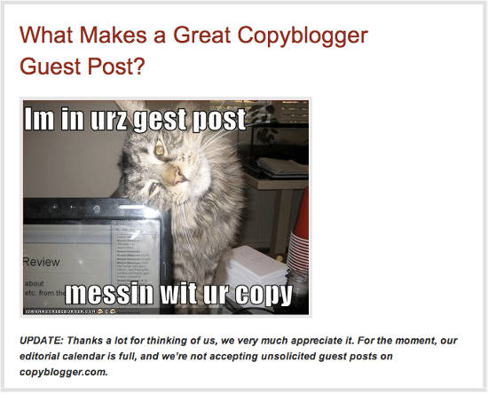 copyblogger-closed-guest-post-submissions
