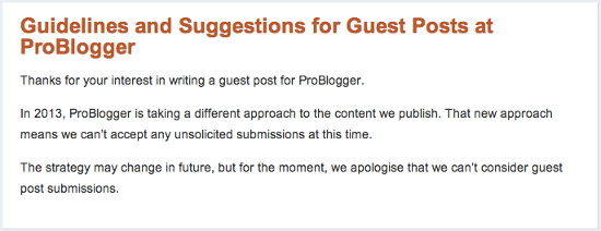 problogger-closed-guest-post-submissions