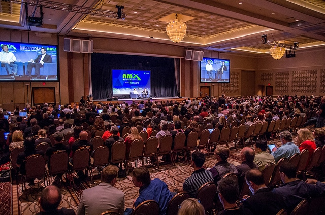 keynote crowd at NMX