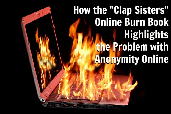 Image of laptop with fire burning from being over-used