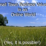 small town business values