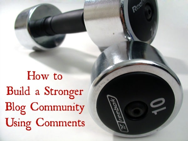 stronger blog community
