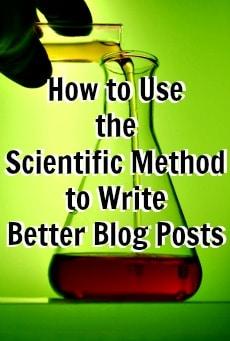 scientic method blog posts