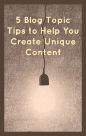 blog topic tips