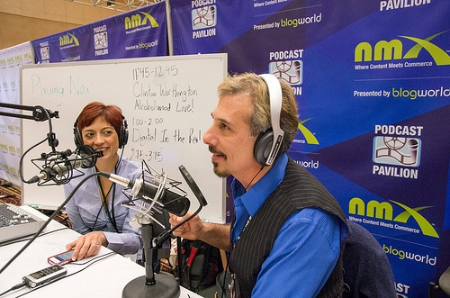 podcasting at nmx