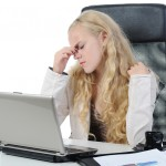 bigstock-Crying-Girl-In-The-Office--9619043