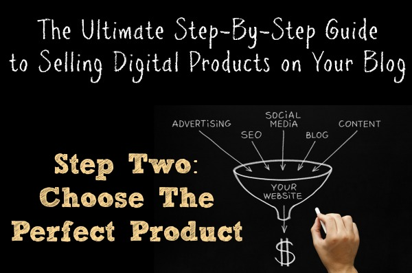 Step Two Choose the Perfect Product