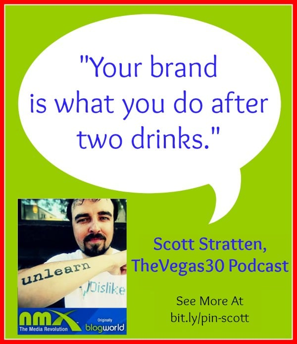 Your brand is what you do after two drinks