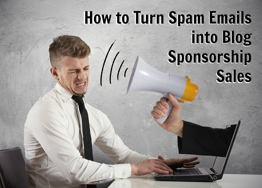 spam emails sponsorship sales